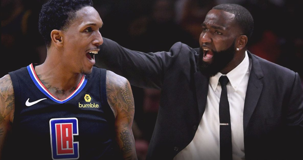 Lou Williams and Kendrick Perkins