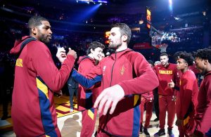 Tristan Thompson and Kevin Love