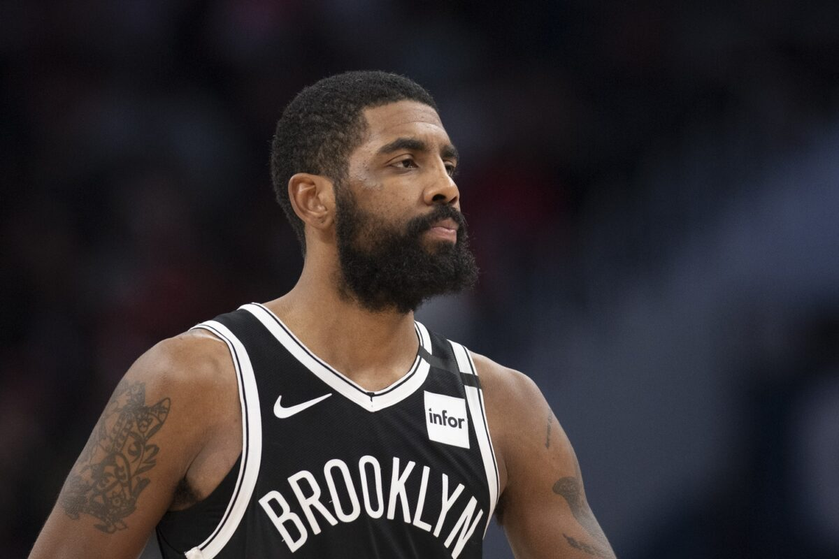 Kyrie Irving Apologizes To Fans After Nets Return, 'Happy To Be Back'