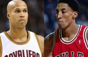 Scottie Pippen and Richard Jefferson