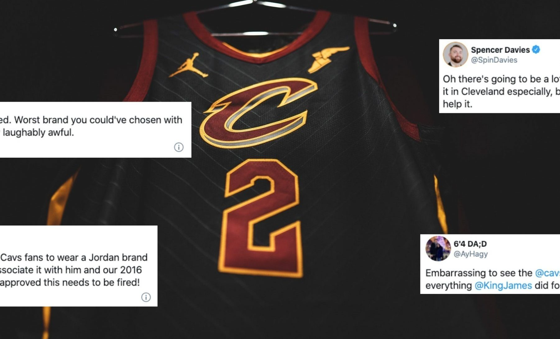 Cavs Fans Angry at New Jersey