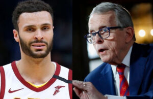 Larry Nance Jr. and Mike DeWine