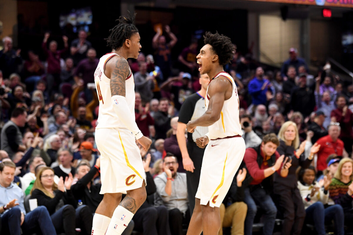 Collin Sexton and Kevin Porter Jr.