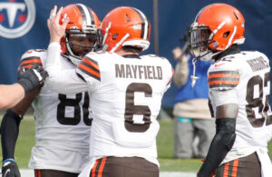 Baker Mayfield and Jarvis Landry