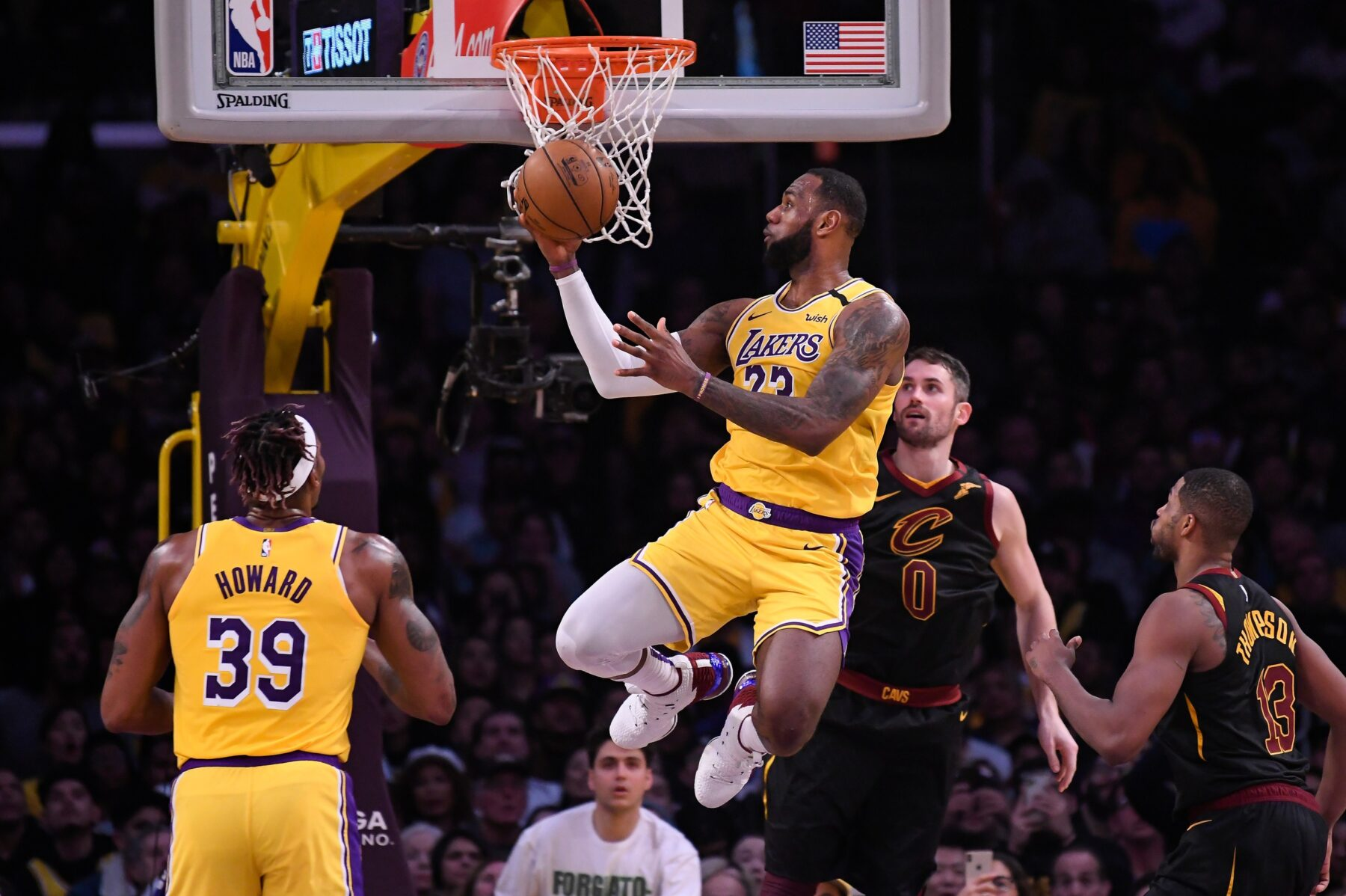 LeBron James Lakers Cavs