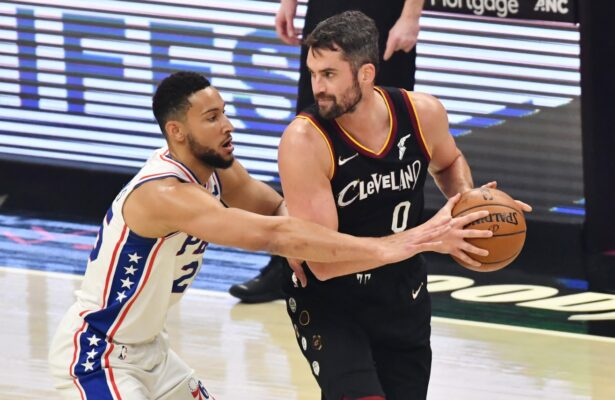 Report: Cavs offer worrisome update regarding Kevin Love's calf injury - Cavaliers Nation