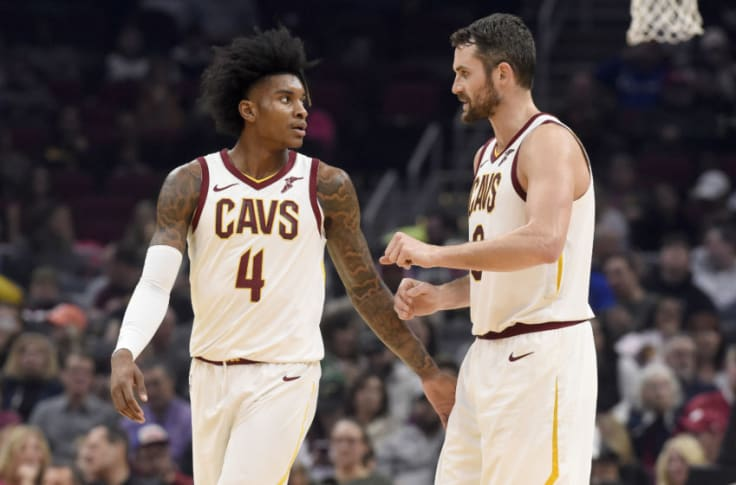 Kevin Porter Jr. and Kevin Love