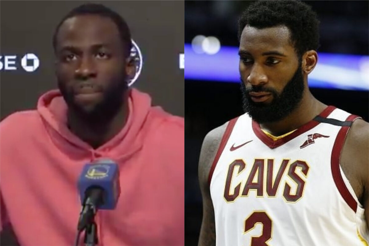 Draymond Green and Andre Drummond