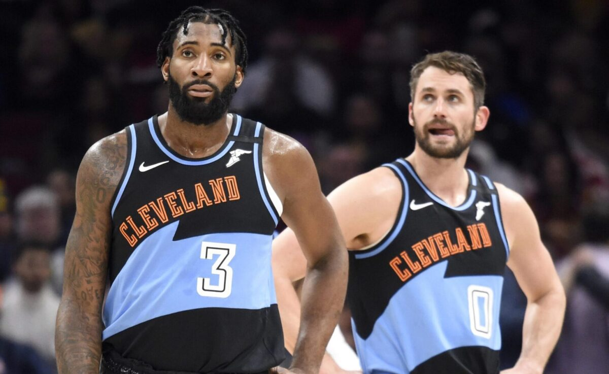 Andre Drummond and Kevin Love
