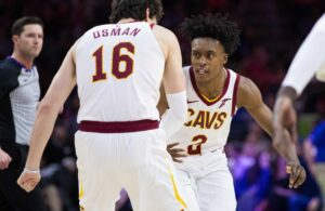 Cedi Osman and Collin Sexton Cavs