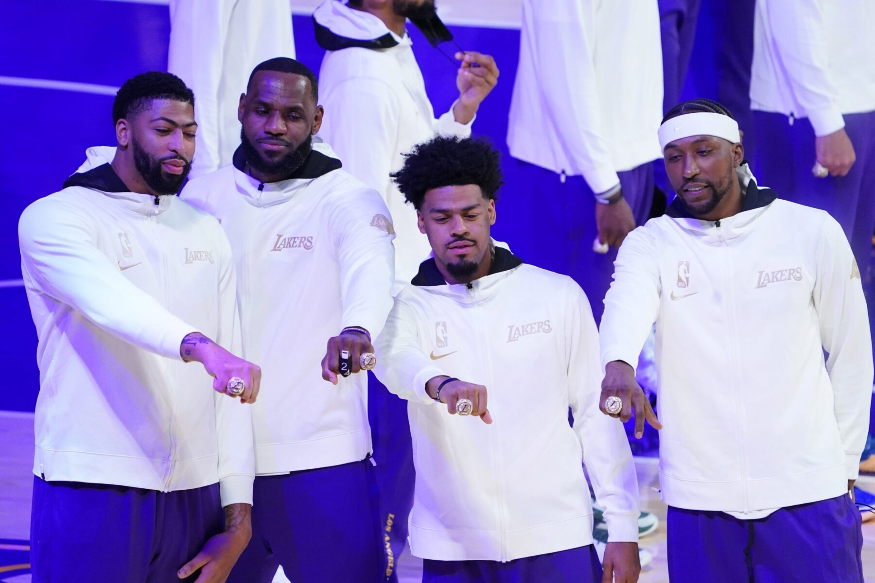 Quinn Cook Lakers