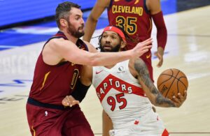 Kevin Love and DeAndre' Bembry