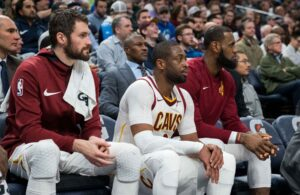 Dwyane Wade and Kevin Love