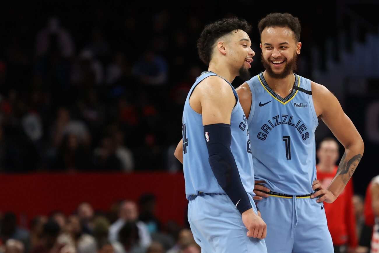 Dillon Brooks and Kyle Anderson
