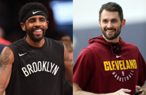 Kevin Love and Kyrie Irving