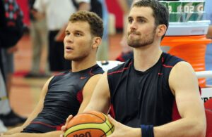 Kevin Love and Blake Griffin