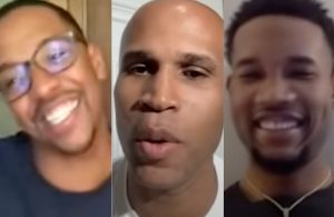 Channing Frye, Richard Jefferson and Evan Mobley
