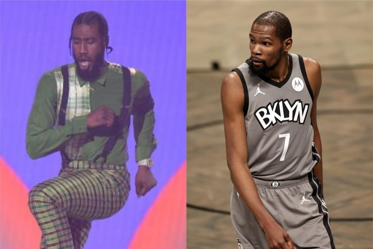 Kevin Durant and Iman Shumpert