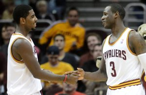 Dion Waiters and Kyrie Irving