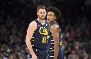 Kevin Love and Collin Sexton